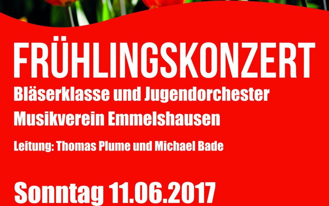 Frühlingskonzert Bläserklasse und Jugendorchester