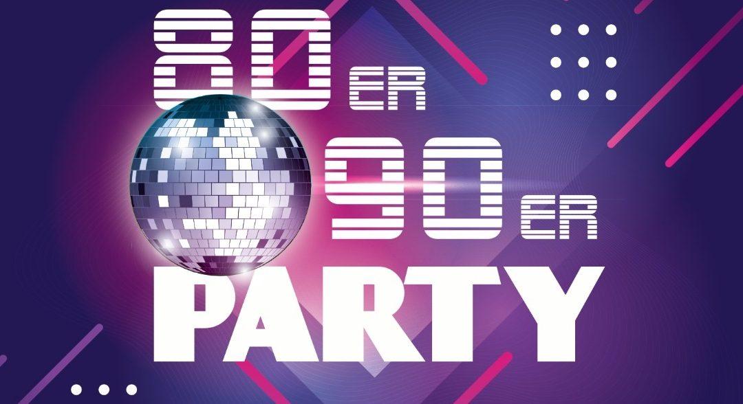 80er/90er-Party